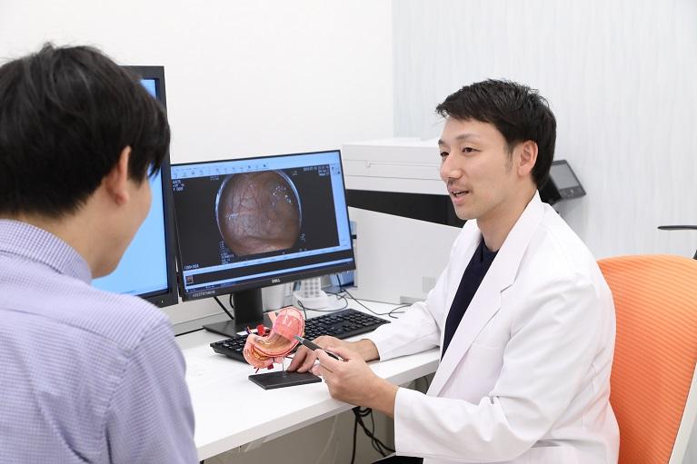 内視鏡治療の研究を行ってきた専門医による検査・治療を大阪で行う玉城クリニック