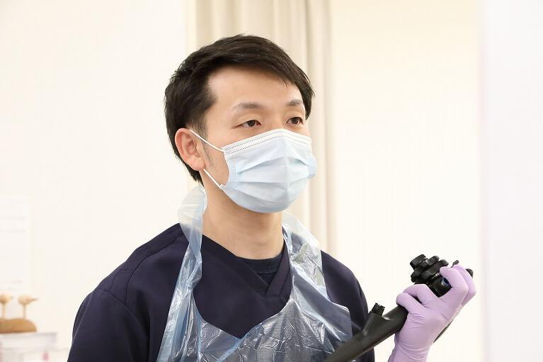 大腸カメラ(大腸内視鏡検査)検査中