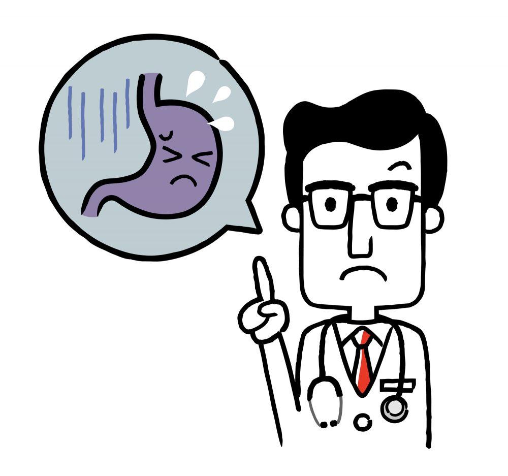 大阪の玉城クリニックでは、ピロリ菌除菌を推奨しています
