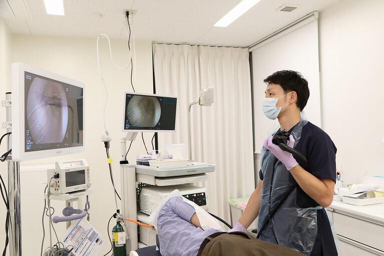 大阪で鎮静剤使用した当日胃カメラ検査が可能な玉城クリニック
